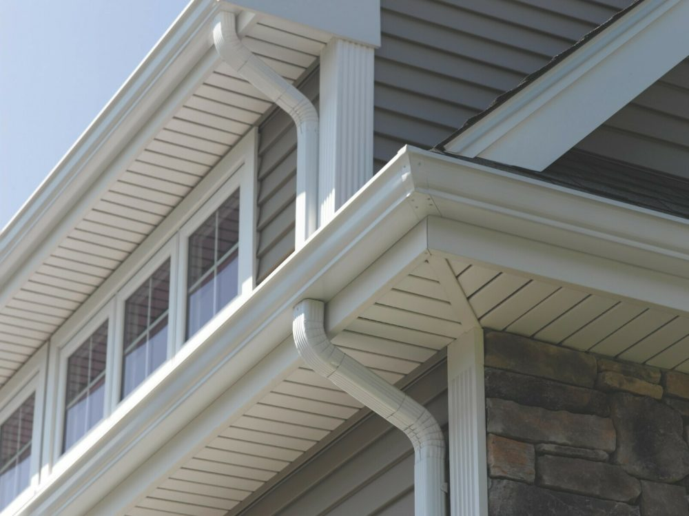 eaves on a roof