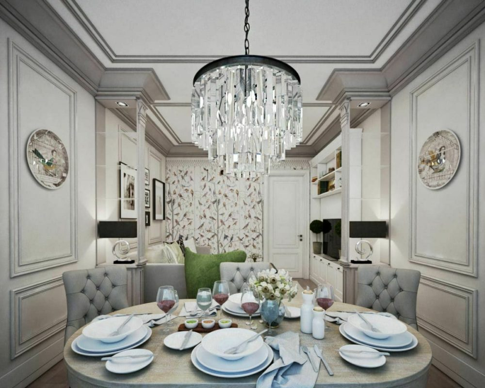 neoclassical interior design elements