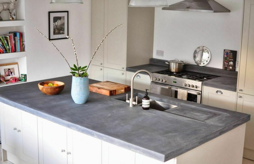 slate kitchen counter