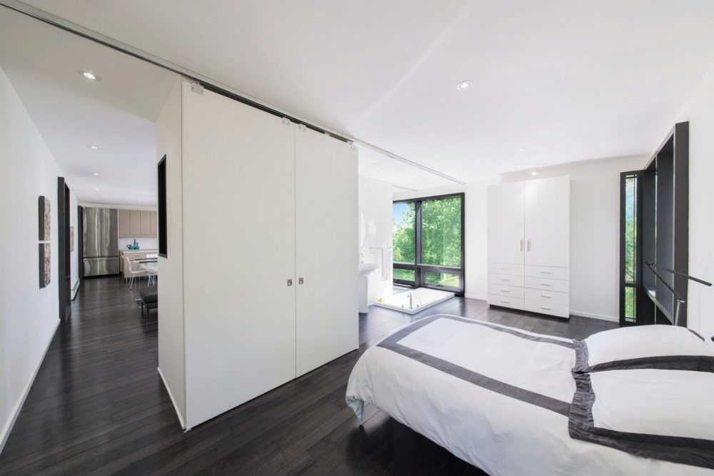 rooms with wood flooring