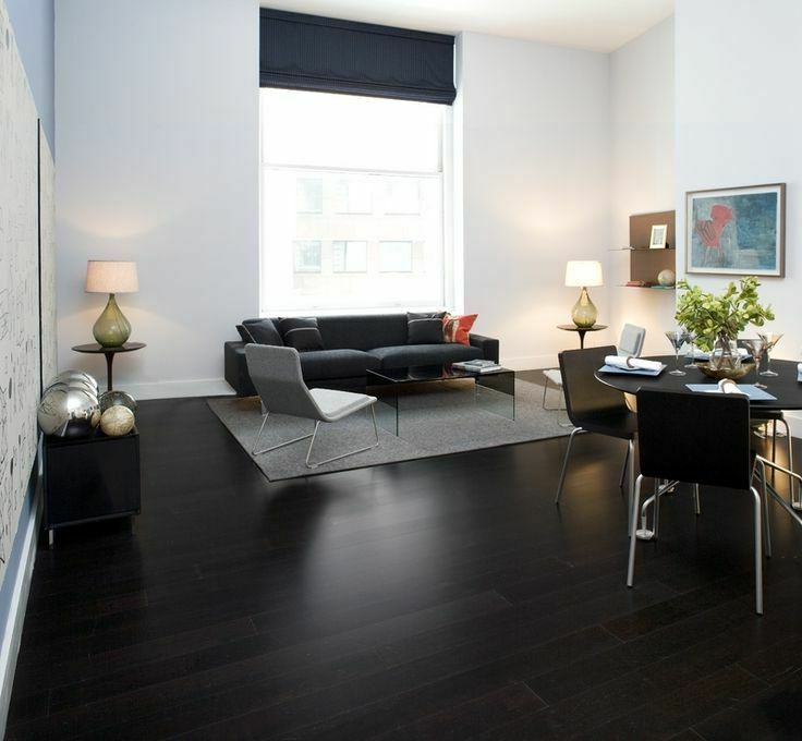 dark color hardwood floors