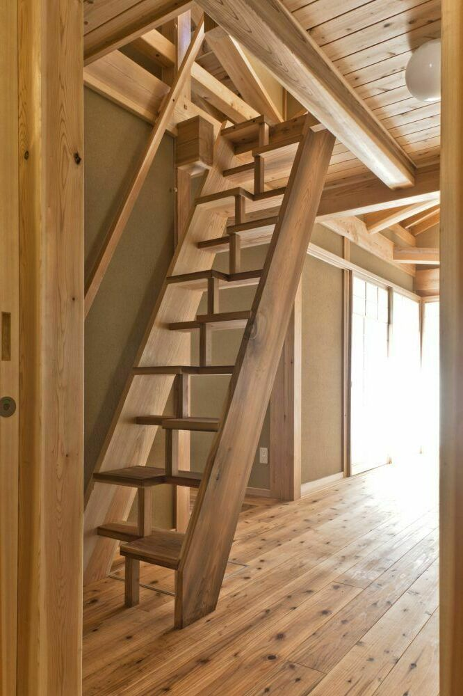 attic stairs design