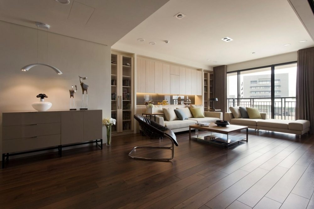 rooms with wood floors