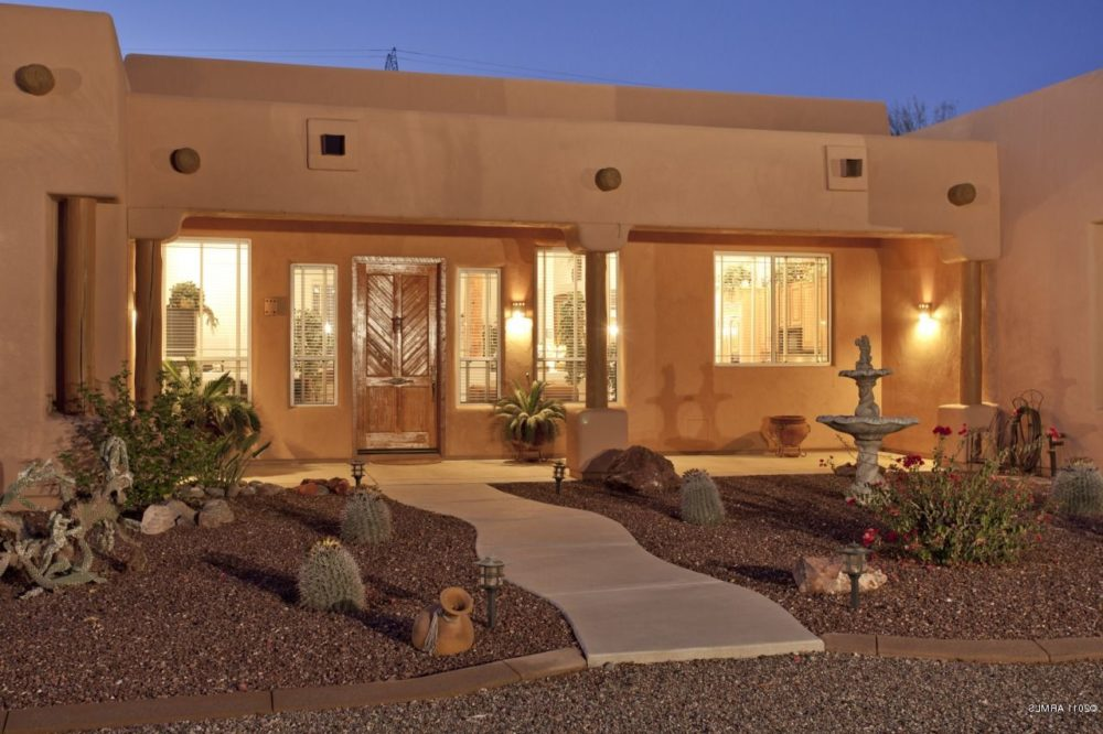 santa fe style homes pictures