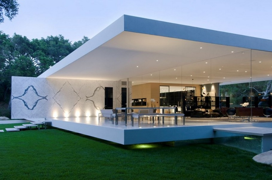 modern glass homes