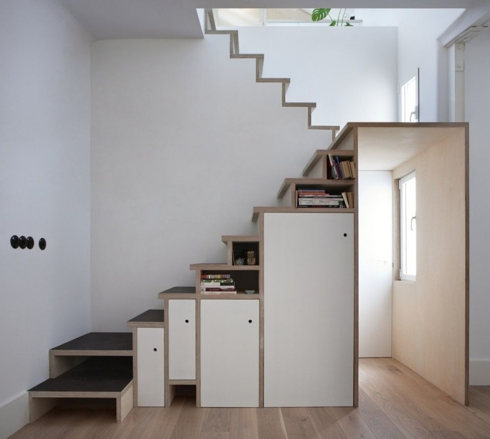 staircase to attic ideas