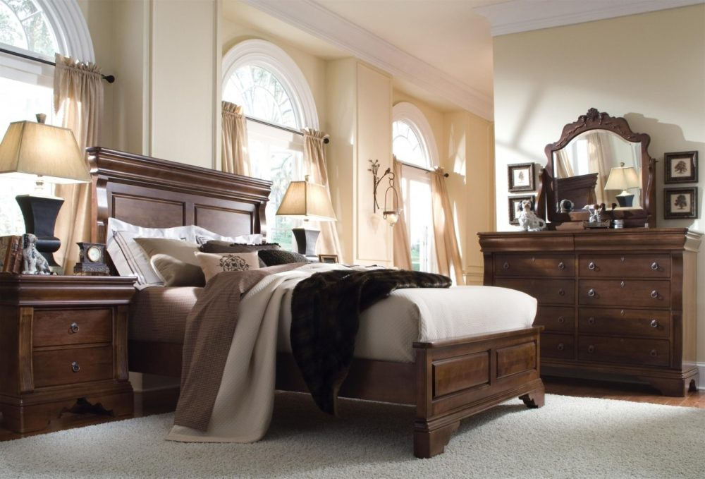 dark bedroom furniture