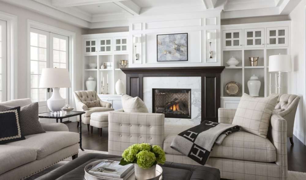 transitional family room ideas