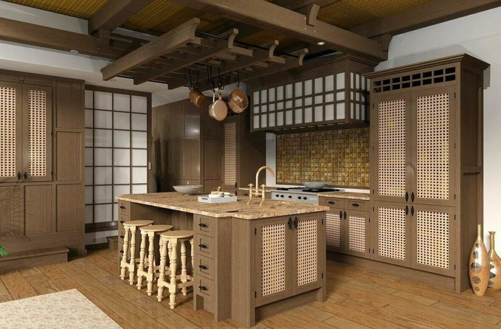 japanese kitchen set