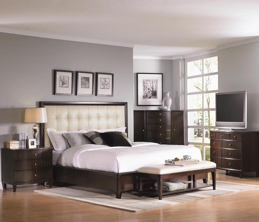 dark furniture bedroom ideas