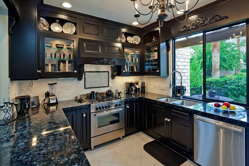 Gothic kitchen design