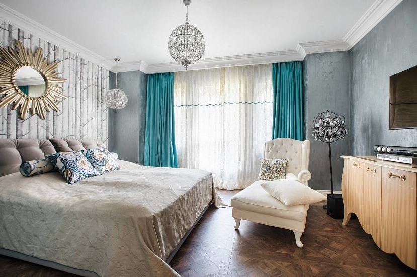 how to choose the curtains in the bedroom