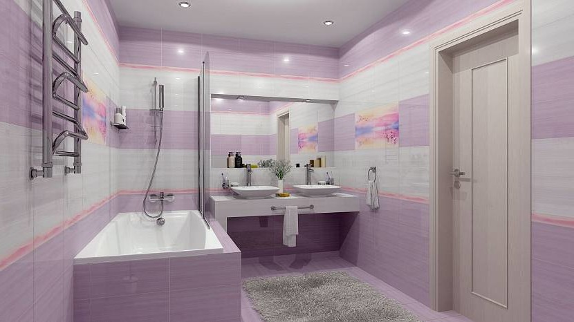 Purple bath