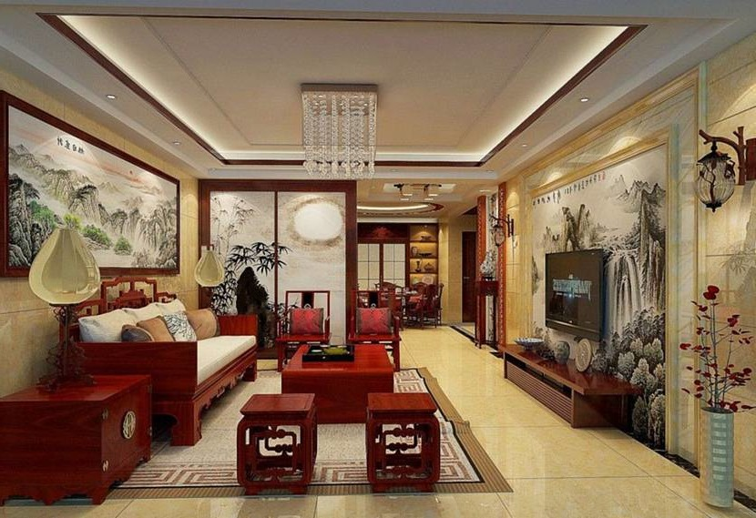 Chinese style in the interior
