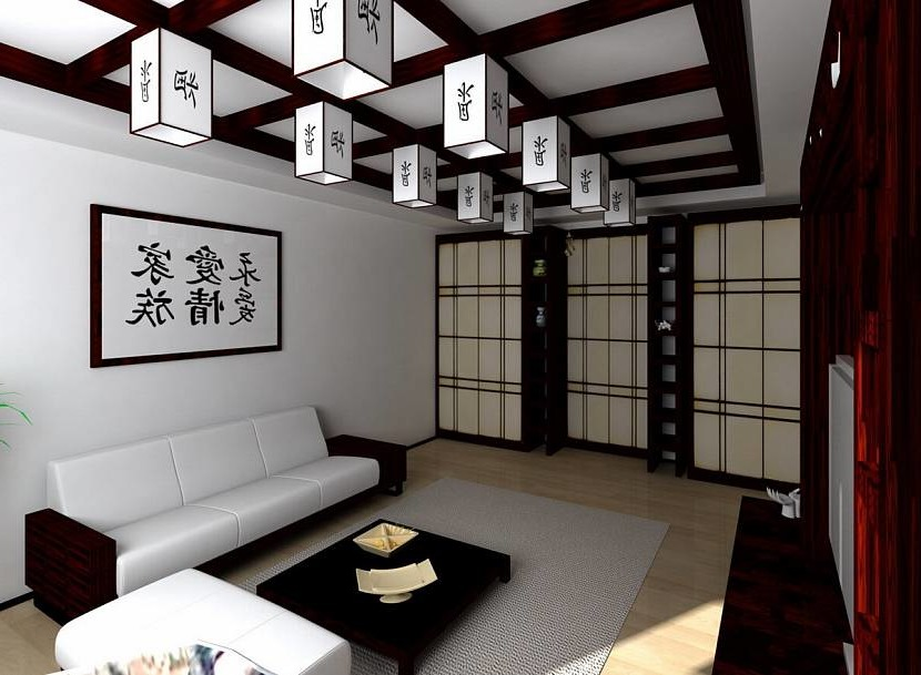Chinese-style ceiling