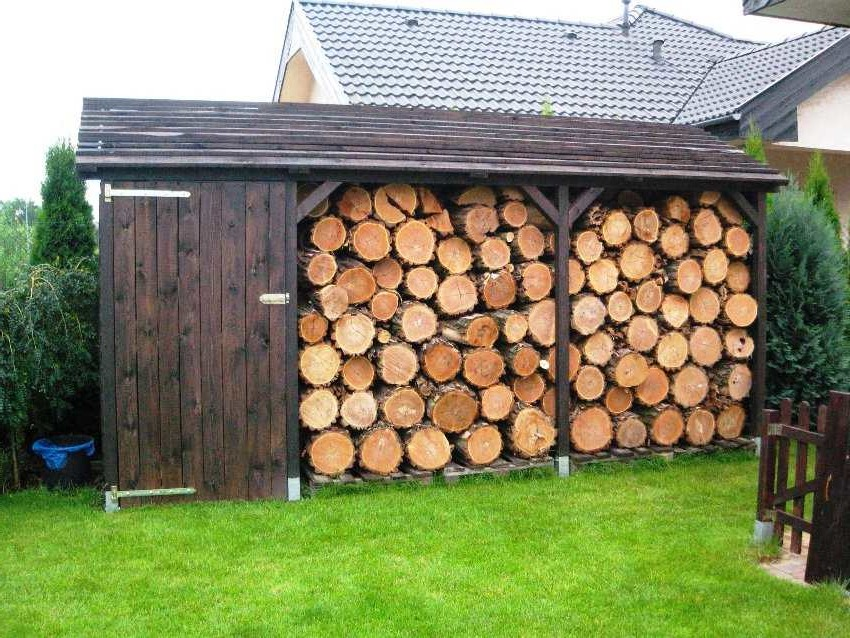firewood shed