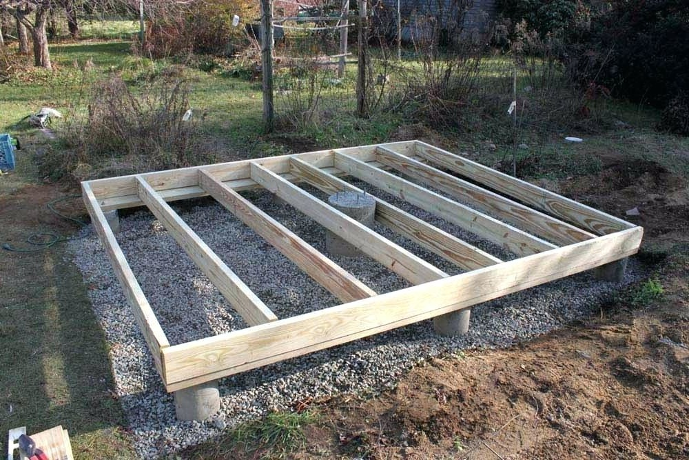 12 Best Shed Foundation Ideas