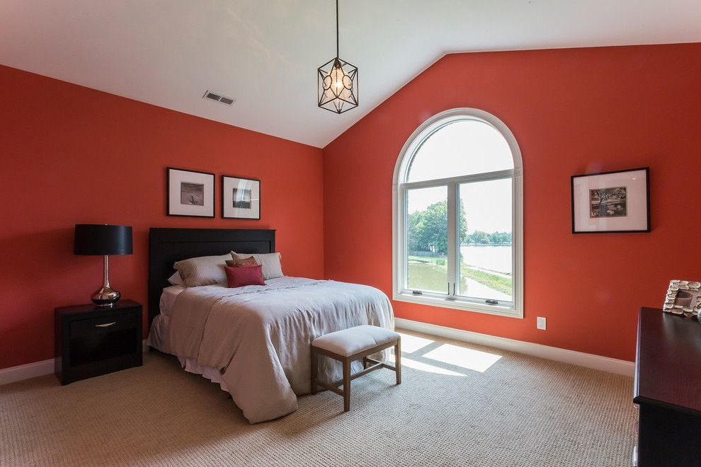 red and black room ideas