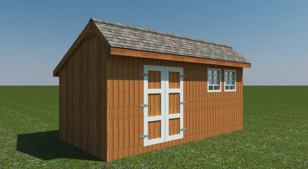 saltbox shed roof styles
