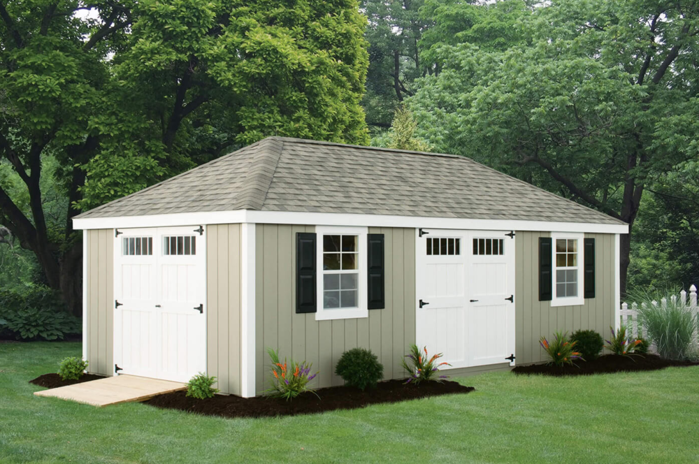 hip shed roof styles