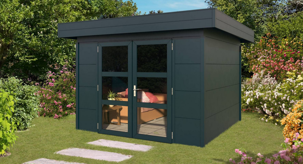 flat shed roof styles